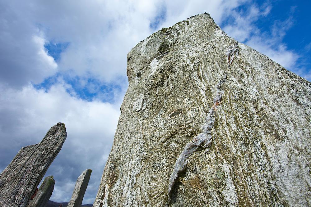 Monumento Neolítico Circulo de Calanais (Ring of Calanais). Isla Lewis. Outer Hebrides. Escocia. UK