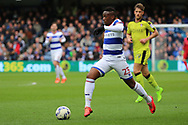 Queens Park Rangers midfielder Yeni Atito Ngbakoto (23) dribbling and on the attack during the EFL Sky Bet Championship match between Queens Park Rangers and Rotherham United at the Loftus Road Stadium, London, England on 18 March 2017. Photo by Matthew Redman.