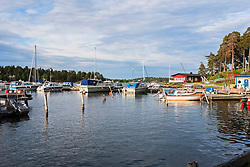 Sailboats in sea, Vaxholm, Stockholm, Sweden