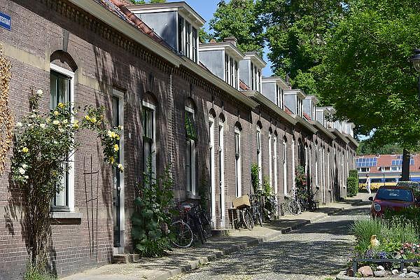 Nederland, Arnhem, 22-5-2014Een woonwijk met vooroorlogse sociale huurwoningen in  de wijk Heijenoord.Foto: Flip Franssen/Hollandse Hoogte
