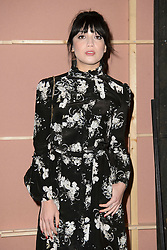 Daisy Lowe on the front row during the Erdem Autumn/Winter 2017 London Fashion Week show at the Old Selfridge's Hotel, London.PRESS ASSOCIATION Photo. Picture date: Monday February 20th, 2017. Photo credit should read: Matt Crossick/PA Wire.