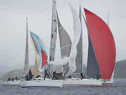 Day one of the Silvers Marine Scottish Series 2015, the largest sailing event in Scotland organised by the  Clyde Cruising Club<br /> Racing on Loch Fyne from 22rd-24th May 2015<br /> IRC Class 2, IRL1666, Carmen II, Jeffrey/Scutt, CCC/HSC, First 36.7<br /> <br /> <br /> Credit : Marc Turner / CCC<br /> For further information contact<br /> Iain Hurrel<br /> Mobile : 07766 116451<br /> Email : info@marine.blast.com<br /> <br /> For a full list of Silvers Marine Scottish Series sponsors visit http://www.clyde.org/scottish-series/sponsors/