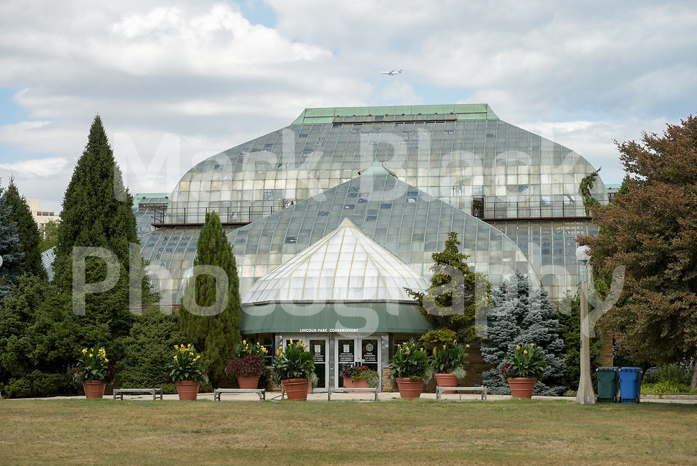 Lincoln Park Conservatory in Chicago on Thursday, Sept. 3, 2020. Photo by Mark Black