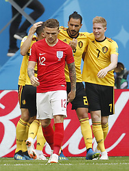 Kieran Trippier of England during the 2018 FIFA World Cup Play-off for third place match between Belgium and England at the Saint Petersburg Stadium on June 26, 2018 in Saint Petersburg, Russia