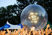 The Flaming Lips perform on July 26, 2010 at the Central Park SummerStage in New York City