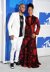 Swizz Beatz and Alicia Keys arriving at the MTV Video Music Awards at Madison Square Garden in New York City, NY, USA, on August 28, 2016. Photo by ABACAPRESS.COM    560634_040 New York City Etats-Unis United States