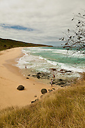 Brava Beach, on the north shore of Culebra, is accessed by a 20 minute walk  through the woods.