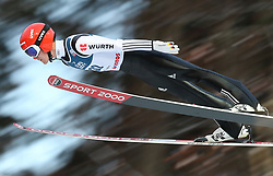 November 19, 2017 - Wisla, Poland - Stephan Leyhe (GER), competes in the individual competition during the FIS Ski Jumping World Cup on November 19, 2017 in Wisla, Poland. (Credit Image: © Foto Olimpik/NurPhoto via ZUMA Press)