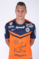 Kevin BERIGAUD - 23.07.2014 - Portraits officiels Montpellier - Ligue 1 2014/2015<br /> Photo : Icon Sport