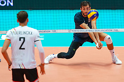 09-08-2019 NED: FIVB Tokyo Volleyball Qualification 2019 / Belgium 0 USA, Rotterdam<br /> First match pool B in hall Ahoy between Belgium vs. USA (1-3) for one Olympic ticket / Aaron Russell #2 of USA