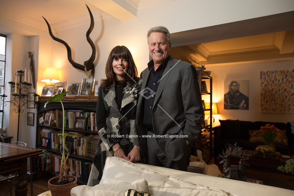 Feb. 1, 2013 - Eames Yates and Pamela Taylor in their home in New York...Photo by Robert Caplin..