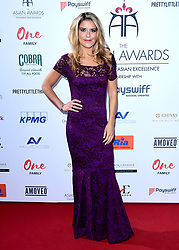 Gemma Oaten attending the 8th Annual Asian Awards held at the Hilton Hotel, Park Lane, London.