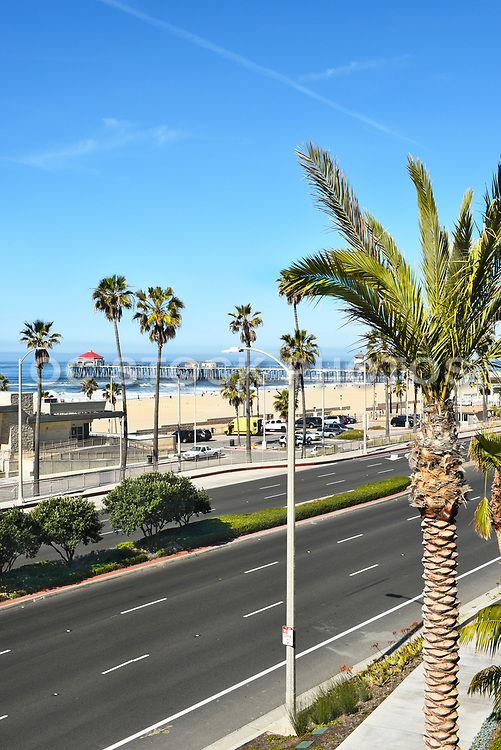 Huntington Beach Pier from Pacific City