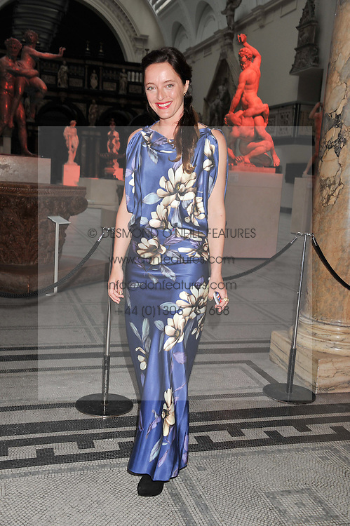 ALICE TEMPERLEY at a private view of Ballgowns: British Glamour Since 1950 at the V&A museum, London on 15th May 2012.
