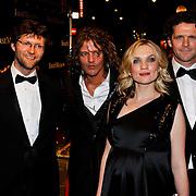 NLD/Amsterdam/20100324 - Premiere film First Mission, Boris Pavel Cohen. Tygo Gernandt, zwangere Anniek Pheifer en Mark Rietman