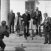 1962 - Ambassador Oil Co. representatives at Aras an Uachtarain