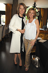 Left to right, Newsreaders MARY NIGHTINGALE and  ANDREA CATHERWOOD at a lunch in aid of Chickenshed showcasing Ben de Lisi's Spring Summer and Autumn 2007 Collections held at the Baglioni Hotel, 60 Hyde Park gate, London SW7 on 24th April 2007.<br /><br />NON EXCLUSIVE - WORLD RIGHTS