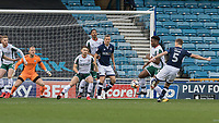 Football - 2017 / 2018 FA Cup - Third Round: Millwall vs. Barnsley<br /> <br /> Tony Craig (Millwall FC) gets an early shot at the Barnsley goal at The Den.<br /> <br /> COLORSPORT/DANIEL BEARHAM