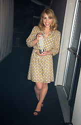 BILLIE PIPER at the 2006 Glamour Women of the Year Awards 2006 held in Berkeley Square Gardens, London W1 on 6th June 2006.<br /><br />NON EXCLUSIVE - WORLD RIGHTS