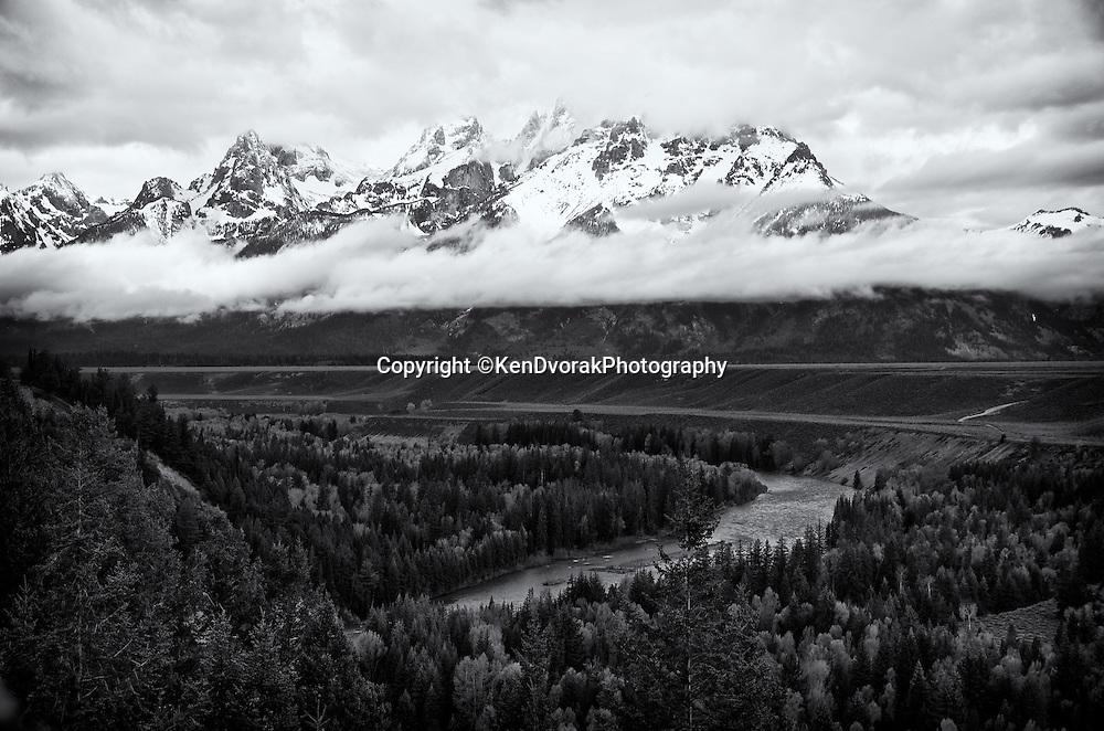 Ansel's Snake River view<br /> Grand Teton NP