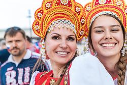 11-06-2016 FRA: UEFA EURO Engeland - Rusland, Marseille<br /> Engeland speelt gelijk tegen Rusland 1-1 / Russian Womens<br /> <br /> ***NETHERLANDS ONLY***