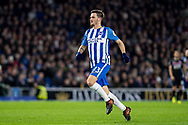 Brighton and Hove Albion (13) Pascal Groß during the Premier League match between Brighton and Hove Albion and Crystal Palace at the American Express Community Stadium, Brighton and Hove, England on 28 November 2017. Photo by Sebastian Frej.