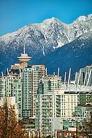 Vancouver Lookout Centre & Coast Mountains