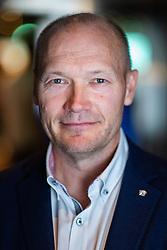 September 3, 2018 - Stockholm, Sweden - 180903 LinkÅ¡pings KlubbdirektÅ¡r Anders MÅki poserar fÅ¡r ett portrÅtt under SDHL:s upptaktstrÅff den 3 september 2018 i Stockholm  (Credit Image: © Maxim Thor/Bildbyran via ZUMA Press)
