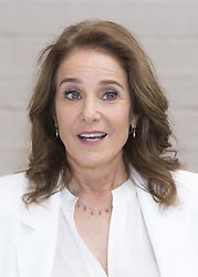 April 26, 2017 - Hollywood, California, U.S. - DEBRA WINGER promotes 'The Lovers' Debra Lynn Winger (born May 16, 1955) is an American actress. She has been nominated three times for the Academy Award for Best Actress: for An Officer and a Gentleman (1982), Terms of Endearment (1983), and Shadowlands (1993). She won the National Society of Film Critics Award for Best Actress for Terms of Endearment, and the Tokyo International Film Festival Award for Best Actress for A Dangerous Woman (1993). Her other film roles include Urban Cowboy (1980), Legal Eagles (1986), Black Widow (1987), Betrayed (1988), Forget Paris (1995), and Rachel Getting Married (2008). In 2012, she made her Broadway debut in the original play The Anarchist. (Credit Image: © Armando Gallo via ZUMA Studio)