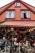 Stavanger, cafe area