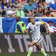 Christie Rampone, U.S. Women's National Team, in action during the U.S. Women's National Team Vs Korean Republic, International Soccer Friendly in preparation for the FIFA Women's World Cup Canada 2015. Red Bull Arena, Harrison, New Jersey. USA. 30th May 2015. Photo Tim Clayton