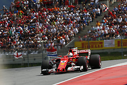 July 9, 2017 - Spielberg, Austria - Motorsports: FIA Formula One World Championship 2017, Grand Prix of Austria, ..#5 Sebastian Vettel (GER, Scuderia Ferrari) (Credit Image: © Hoch Zwei via ZUMA Wire)