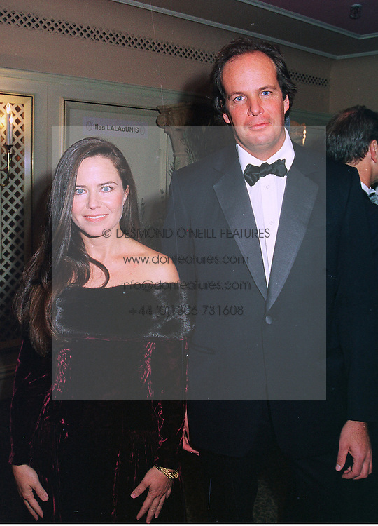 MISS KOO STARK a former close friend of the Duke of York and MR WARREN WALKER the father of her daughter, at a ball in London on 8th November 1998.<br /> MLP 37
