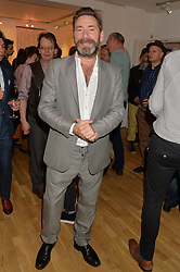 MAT COLLISHAW at a party to celebrate the reopening of the Turps Art School held at Shapero Modern, 32 St.Georges Street, London on 14th October 2014.