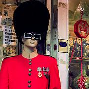 Odd uniform, Hong Kong, China (January 2006)