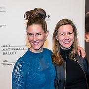 NLD/Amsterdam/20180324 - inloop première Dutch Doubles ballet, Tamara Seur en ............
