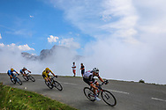 Tom Dumoulin (NED - Team Sunweb), Geraint Thomas (GBR - Team Sky), Mikel Landa (ESP - Movistar), Romain Bardet (FRA - AG2R - La Mondiale) during the 105th Edition of Tour de France 2018, cycling race stage 19, Lourdes - Laruns (200 km) on July 27, 2018 in Laruns, France - photo Kei Tsuji / BettiniPhoto / ProSportsImages / DPPI
