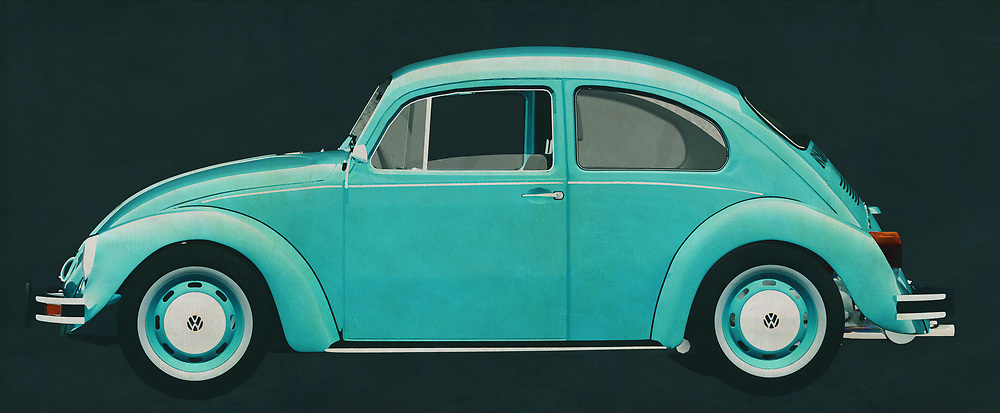 The 1972 Volkswagen Beetle Sedan has been sold all over the world. Ferdinand Porsche did not expect this when he designed his first Volkswagen. This 1972 Volkswagen Beetle Sedan is of course also featured in films, of which the Dolle Beetle is the most famous.<br /> The 1972 Volkswagen Beetle Sedan was for many their first car. Pure nostalgia.<br /> <br /> This painting of a 1972 Volkswagen Beetle Sedan can be printed very large on different materials. The work has a panoramic proportion and is very suitable to add a detail in a workspace, showroom or just at home that will impress your visitors. –<br /> <br /> BUY THIS PRINT AT<br /> <br /> FINE ART AMERICA<br /> ENGLISH<br /> https://janke.pixels.com/featured/the-1972-volkswagen-beetle-sedan-is-a-version-of-the-best-sellin-jan-keteleer.html<br /> <br /> WADM / OH MY PRINTS<br /> DUTCH / FRENCH / GERMAN<br /> https://www.werkaandemuur.nl/nl/shopwerk/Volkswagen-Kever-Sedan-1972/606155/132<br /> <br /> -