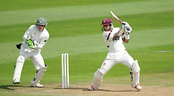 Somerset's Peter Trego in action - Mandatory byline: Alex Davidson/JMP - 07966386802 - 22/08/2015 - Cricket - County Ground -Taunton,England - Somerset CCC v Worcestershire CCC - LV= County Championship Division One - Day 2