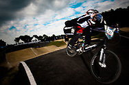 #141 (TEULLET Denis) FRA at the UCI BMX Supercross World Cup in Papendal, Netherlands.