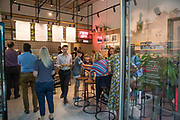 New start-up catering business Lords of Poké opened their brand new flagship store on the 20th August 2018 in Paddington Central in the United Kingdom. Lords of Poké is ran by Tom Greenhill and Marty Sykes following a successful run of outlets at food markets across London. The pair serve up fresh Californian inspired Poké bowls, consisting of healthy rice, raw fish and oriental fusion flavours.