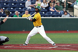 18 May 2012:  Robert Brooks during a Frontier League Baseball game between the Windy City Thunderbolts and the Normal CornBelters at Corn Crib Stadium on the campus of Heartland Community College in Normal Illinois
