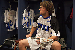 31 May 2010: Duke Blue Devils midfielder David Lawson (31) before playing the Notre Dame Irish in the NCAA Lacrosse Championship at M&T Bank Stadium in Baltimore, MD.  The Blue Devils would go on that day to win the national title.