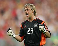 Fotball, 21. juni 2005, Confederations Cup 2005 Argentina - Tyskland,<br /> Timo Hildebrand Torwart Deutschland<br /> Norway only