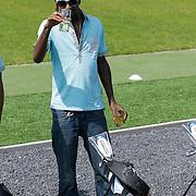 NLD/Abcoude/20120530 - Gekleurde bn' ers gaan multicultureeel golfen, rapper Kempi