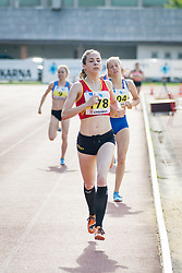 Marusa Povse competes during day 2 of Slovenian Athletics Cup 2019, on June 16, 2019 in Celje, Slovenia. Photo by Peter Kastelic / Sportida