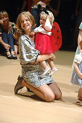 NATALIA VODIANOVA and her daughter NEVA PORTMAN at a children's ballet workshop and tea party to celebrate the world premiere of 'Angelina's Star Performance' Angelina Ballerina's first real life ballet hosted by the National Ballet at the New Wimbledon Theatre, London SW19 on 6th September 2007.<br /><br />NON EXCLUSIVE - WORLD RIGHTS