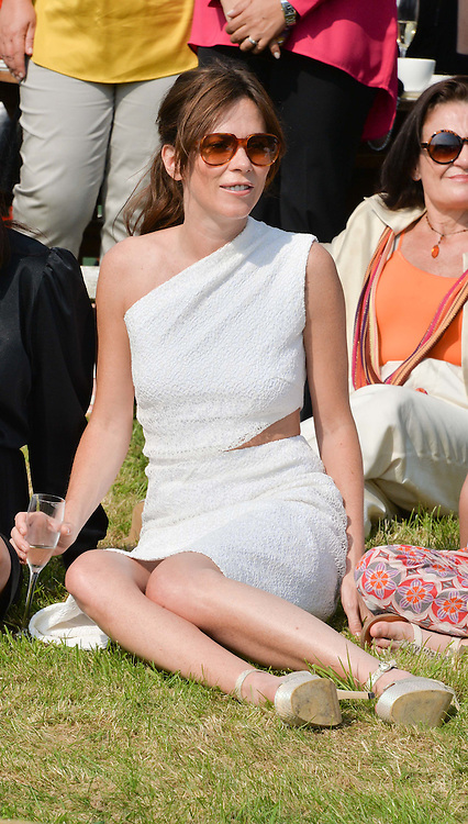 ANNA FRIEL at the St.Regis International Polo Cup at Cowdray Park, Midhurst, West Sussex on 17th May 2014.