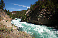 Scenic image of the Chilko River. British Columbia, Canada.