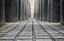 Holocaust Memorial in Berlin Germany
